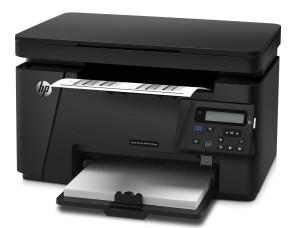 HP LaserJet Pro M125nw Mono MFP Laserdrucker (Scanner, Drucker, Kopierer, WLAN, Ethernet, USB 2.0) schwarz
