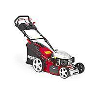 Der Benzin-Rasenmäher HECHT 548 SWE 5 in 1 mit Elektrostarter! Das Top-Komfort-Modell mit bequemen Elektrostart über Zündschlüssel!
