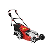 Der kraftvolle Motor mit 1800 Watt und das Gewicht von 23,8 kg sind ein weiteres Qualitätsmerkmal dieses Rasenmähers der Marke Hecht!