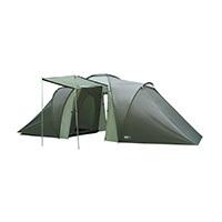 Das High Peak Como 6 Zelt ist eine vis-a-vis Konstruktion für bis zu 6 Personen. Die beiden großen Innenzelte bieten Platz für jeweils 3 Personen und sind mit vielen Ablagemöglichkeiten ausgestattet.