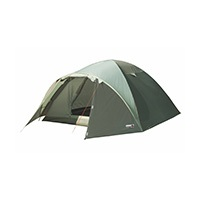 Bestseller Doppeldach Kuppelzelt der High Peak Camping Serie in attraktivem blau. Der wettergeschützte Eingang und 2.000 mm Wassersäule garantieren ein trockenes Schlafzimmer auch bei Schlechtwetterperiode