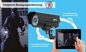 Überwachungskameras sinnvoll montieren, wie die Instar wetterfeste WLAN Netzwerkkamera
