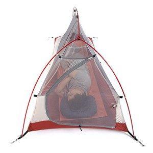 NatureHike Im Freien Wasserdichte Zelt Doppelschicht Zelt Ultraleicht Camping Zelt fur 1 Personen