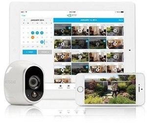 Überwachungskamera Arlo von Netgear mit Zugriff von PC oder Tablet