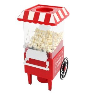 Der Popcorn Maschine - Fairground Popcorn Maker hat eine stylische Optik.
