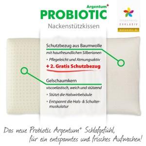 Probiotic-Argentum Rueckenschlaeferkissen