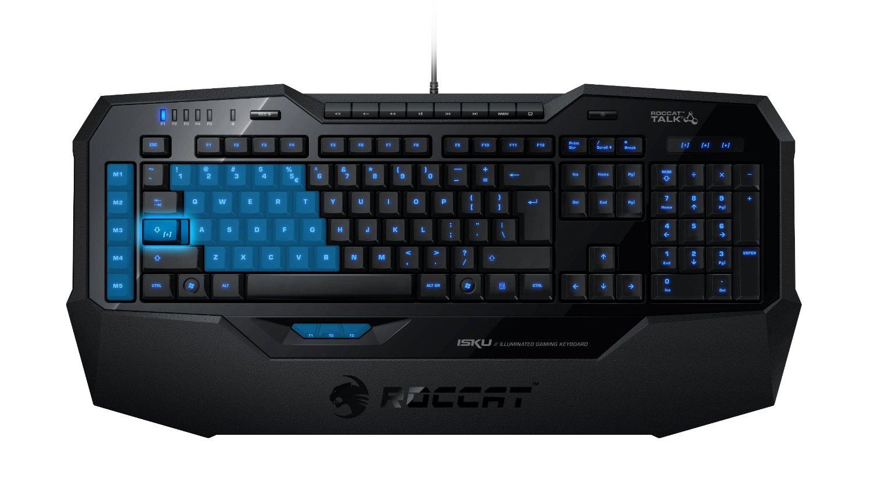 Roccat Isku Illuminated Gaming Tastatur .