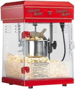 Die Rosenstein & Söhne Profi-Popcorn-Maschine im beeindruckenden Design.
