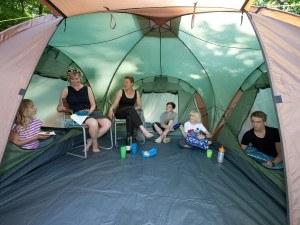 Skandika Daytona XXL Familienzelt für 6 Personen mit 3000mm Wassersäule