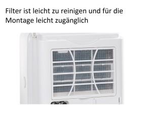 comfee Luftentfeuchter / Bautrockner MDF2-20DEN3 / 3 Jahre Garantie / (20L in 24h) Raumgröße ca 40m² bzw 100m³ [Energieklasse A]