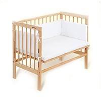 FabiMax 2386 Beistellbett Basic inklusiv Matratze Comfort und Nest Amelie