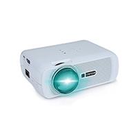 Dieser XPE460 Projektor hat die dauerte ein Upgrade LED-Technologie, mehr Helligkeit als gewöhnliche LED-Projektor mit 1000 Lumen liefert.
