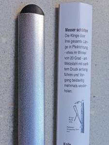 Dolomiten Inox Diamant-Wetzstahl, professionell, 30,5 cm