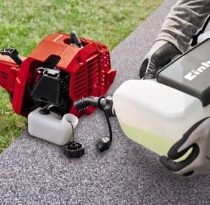 Einhell Benzin Rasentrimmer GC-PT 2538 I AS (0,75 kW, 38 cm Fadenschnittkreis, 2 mm-Doppelfaden, Tippautomatik, Zusatzhandgriff, Quick Start)
