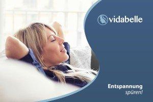 Entspannung-Vidabelle-Werbung