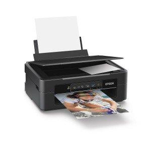 Epson Expression Home XP-235 Tintenstrahl Multifunktionsdrucker (Drucken, Scannen, Kopieren, 5.760 x 1.440 dpi, USB, Wi-Fi) schwarz