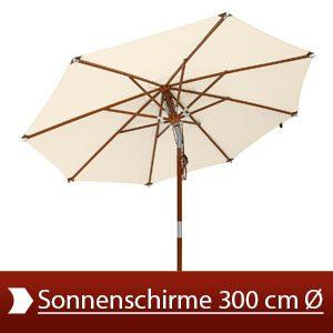Wundervoll Sonnenschirme 300 cm Ø Test 2017 • Die 10 besten Sonnenschirme 300  LW81