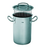 Der Fissler Profi Collection Asparagus Pot 16 cm Exterior 235 mm 4.7 L ist der Testsieger.