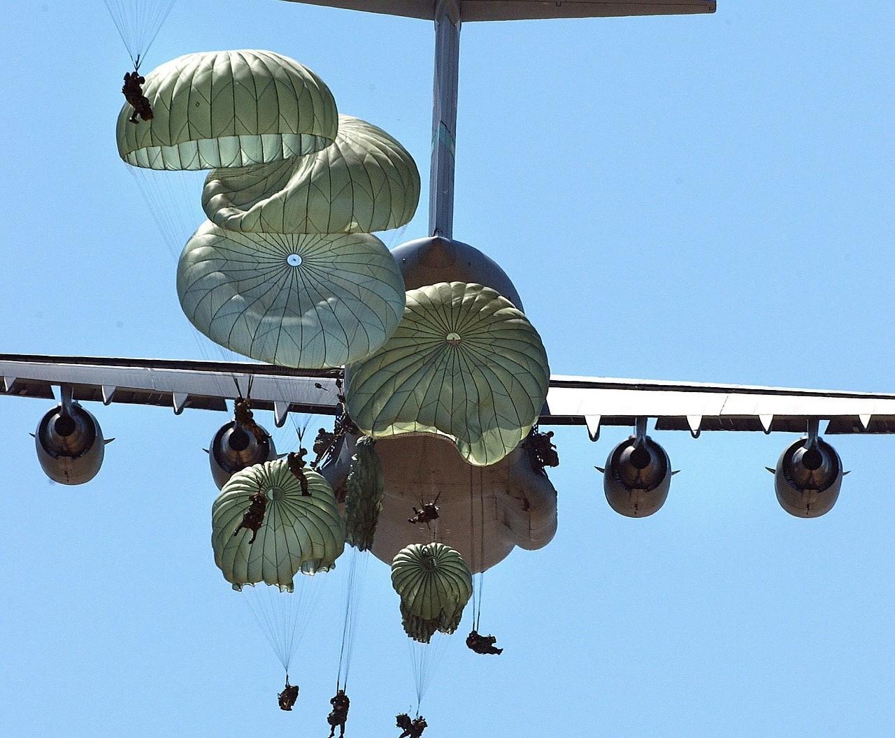 Geschichte des Fallschirmspringens