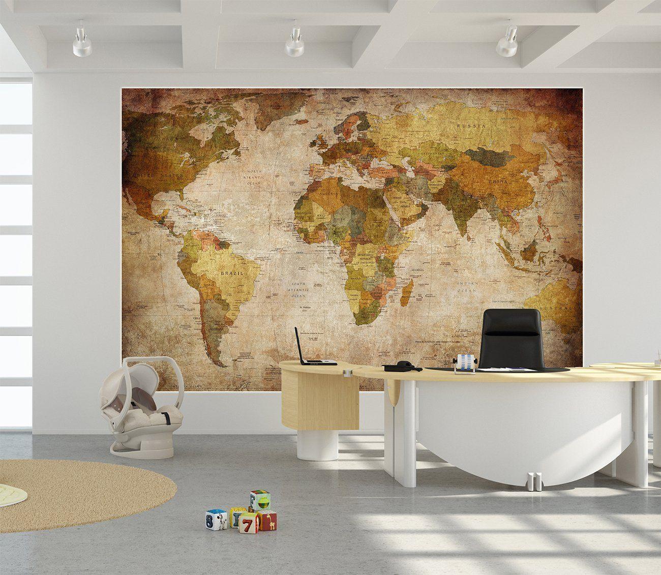 Globus-Großbild-Karte