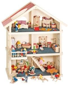 Puppenhäuser für kleine Prinzessinnen im Test.
