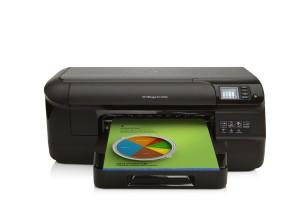 HP Officejet Pro 8100 ePrinter Tintenstrahldrucker (A4, Drucker, Duplex, Wlan, 2,0 USB, 4800x1200 dpi) schwarz