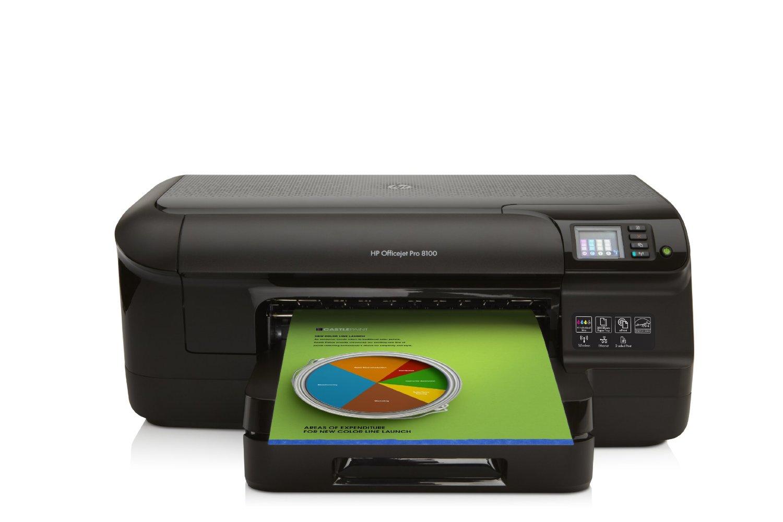 HP-Officejet-Pro-8100-ePrinter-Tintenstrahldrucker-A4-Drucker-Duplex-Wlan-2-0-USB-4800x1200-dpi-schwarz-Druck
