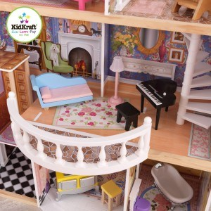Für das Puppenhaus gibt es reichlich Zubehör.