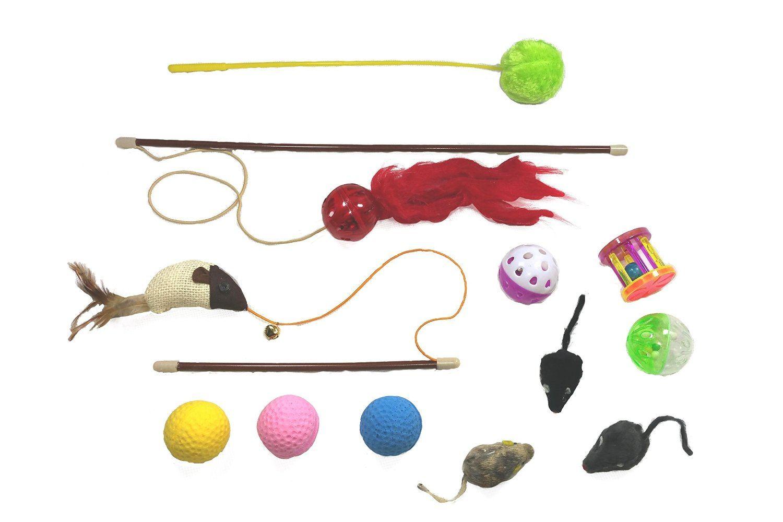Kratzbaum-Spielzeugsortiment