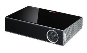 LG PA1000 Portabler LED-Projektor (WXGA, Kontrast 100.000:1, 1280 x 800 Pixel, 1000 ANSI Lumen, HDMI, USB, D-Sub) schwarz