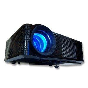 MediaLy LED Beamer FNX2000 HDMI Video Heimkino Projektor USB 854x540 Native HD ready bis 1920x1080 ( 1080i ) 2000 ANSI Lumen Videoprojektor Videobeamer Heimkinoprojektor