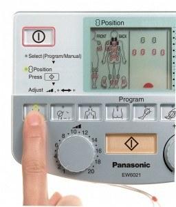 Panasonic EW6021 TENS-Therapie Reizstromgerät