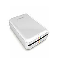 Polaroid POLMP01W - Fotodrucker (Micro-USB, Batterie/Akku, Bluetooth, NFC, Android, iOS)