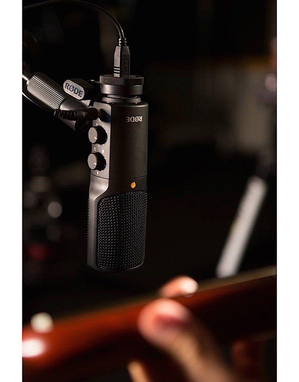 Rode NTUSB Studioqualität USB Kondensatormikrofon 2
