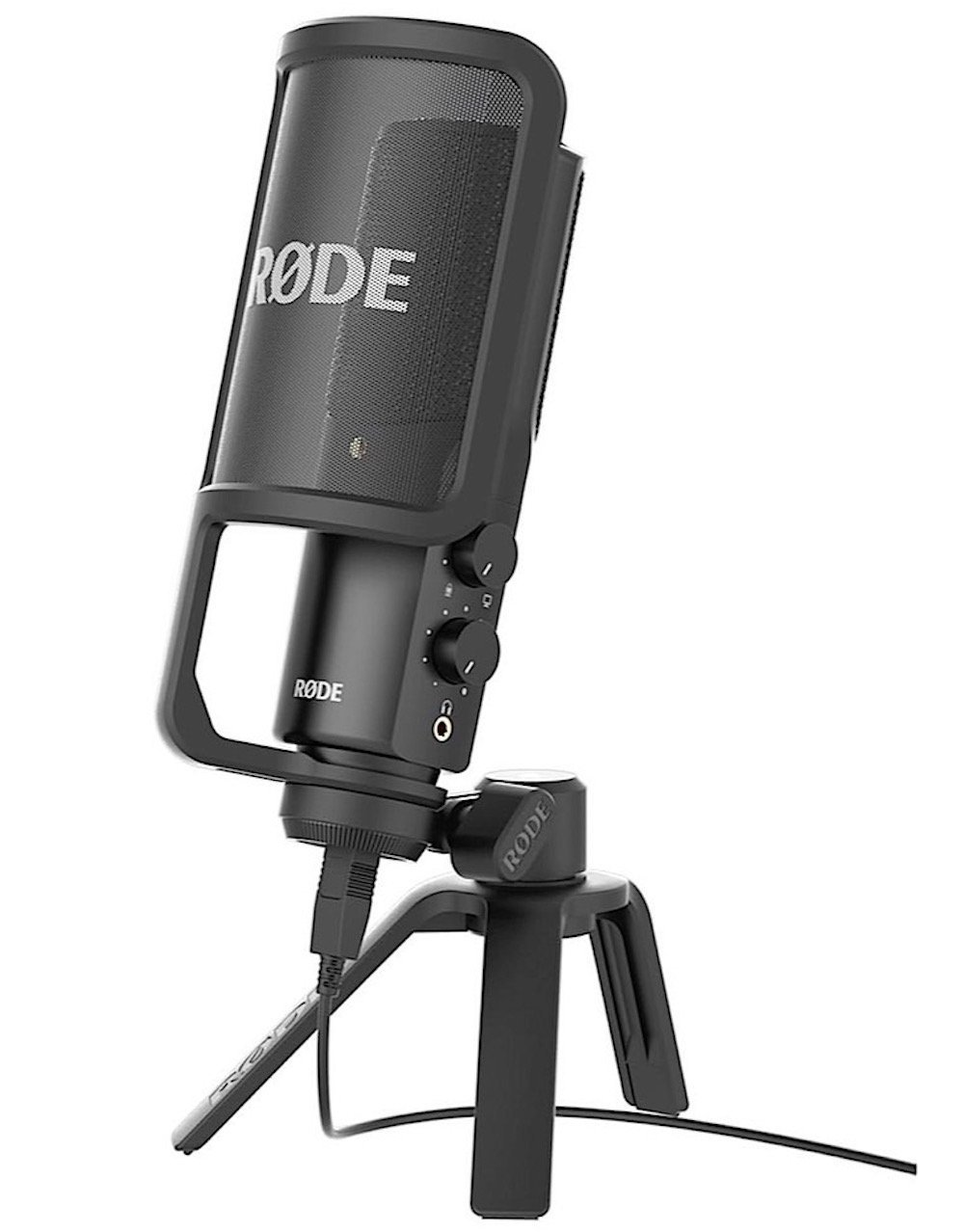 Rode NTUSB Studioqualität USB Kondensatormikrofon