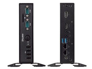 SHUTTLE Barebone XPC slim DS57U Celeron 3205u HDMI