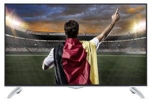 Telefunken XU40A401 102 cm (40 Zoll) Fernseher (4K Ultra-HD, Triple Tuner, Smart TV) [Energieklasse A]
