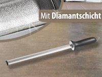 TokioKitchenWare Diamant-Wetzstahl, 29 cm