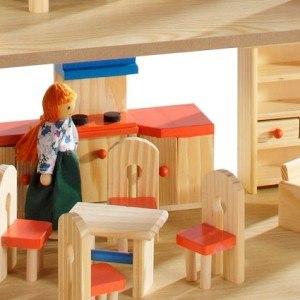 Auf ein paar Punkte sollten Sie achten, wenn Sie ein Puppenhaus kaufen.