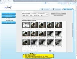 upCam Cyclone HD - IP Kamera mit Nachtsicht (HD 1280x960, WLAN, Audio, App, SD Karte, Cloud, Weitwinkel Objektiv 1,3 MP) - Deutscher Hersteller und Support