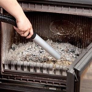 Aschestaubsauger, 20Liter, sicheres Aufsaugen der Asche aus Holzöfen, Pelletöfen, Kaminen, Grill