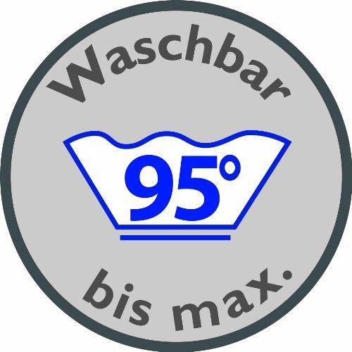 Waschbar bis max. 95