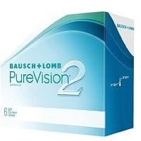 PureVision Bausch & Lomb Kontaktlinsen Test