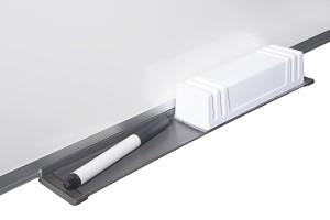Bi-Office Whiteboard - alle Größen - magnetisch, mit Alurahmen und Stifteablage