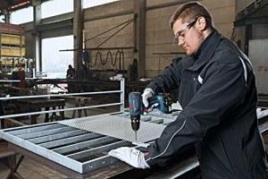 Bosch-Akku-Schlagbohrschrauber-Betrieb