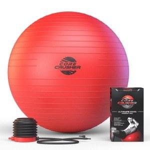 Der Core Crusher Fitness- und Gymnastikball im Test.