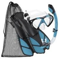 Das Cressi Silicone Snorkeling Swim Mask Fin Schnorchel Set im Produkttest.