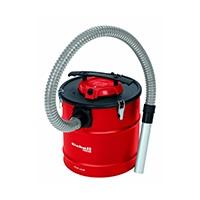 Gründliches und sicheres Absaugen von kalter Asche aus Öfen und Feuerstellen mit starken 500 Watt Leistung und Aluminium-Saugrohr.