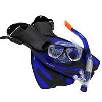 Hochwertige, größenverstellbare 2 Glas (Sicherheitsglas) Tauchmaske.