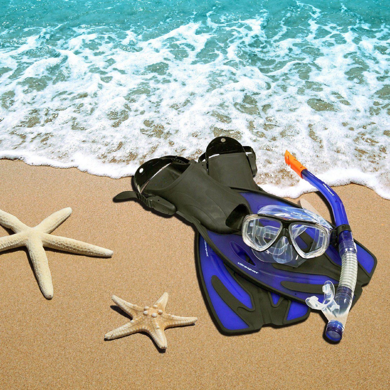Erwachsenen Schnorchelset Bahamas Von Ultrasport Strand